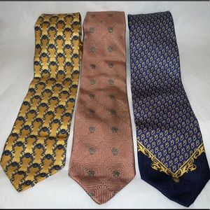 Versace Silk Ties Bundle